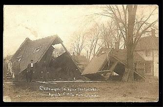 Photo: Cyclone of 1912 Postcard