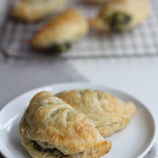 Spinach and Artichoke Dip Hand Pies.