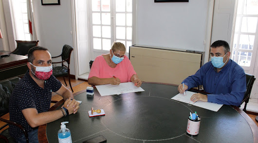 Cruz Roja Almería y la Federación Gitana firman un acuerdo de colaboración