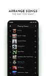 screenshot of PowerAudio Pro Music Player