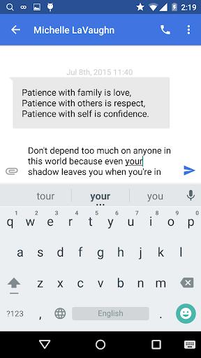 Picoo Messenger - Text SMS 1.3.08.28 screenshots 2