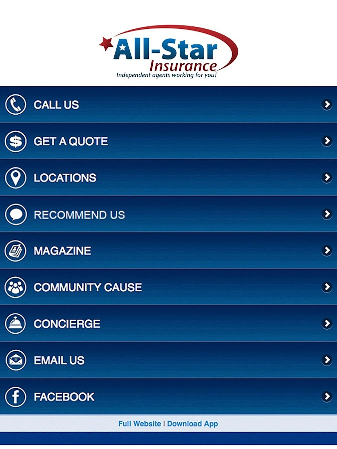 All-Star Insurance- screenshot