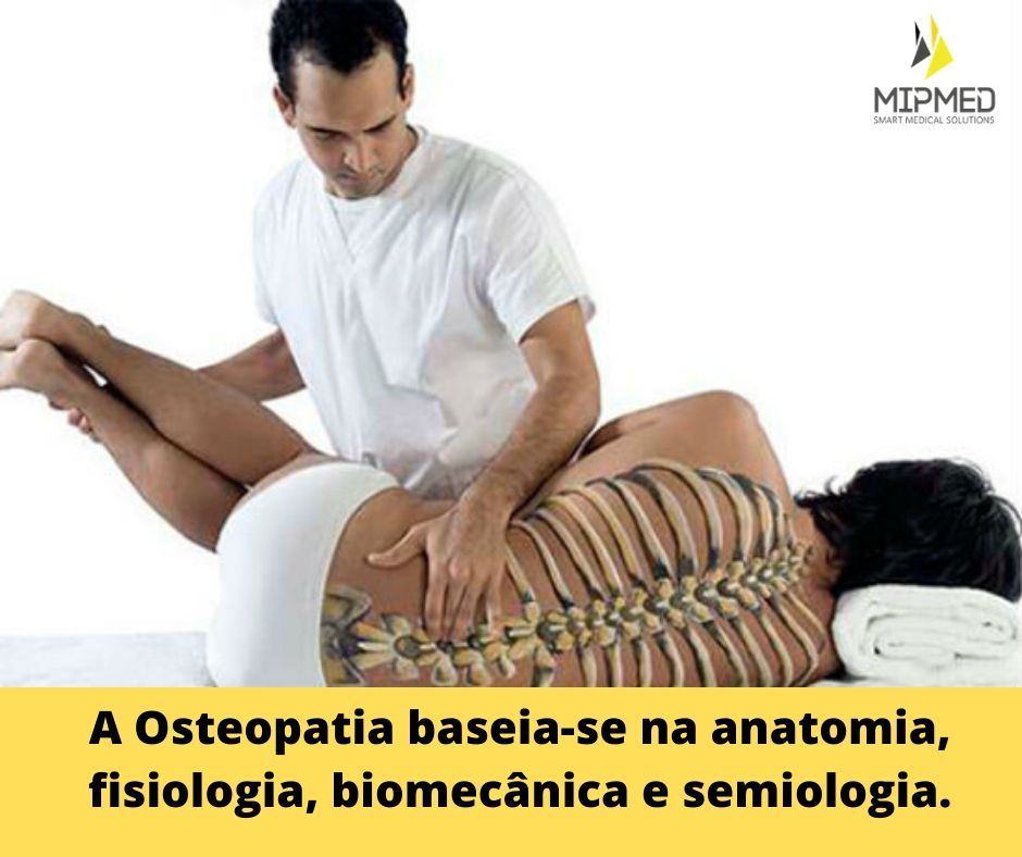 Osteopathy is based on anatomy, physiology, biomechanics and semiology
