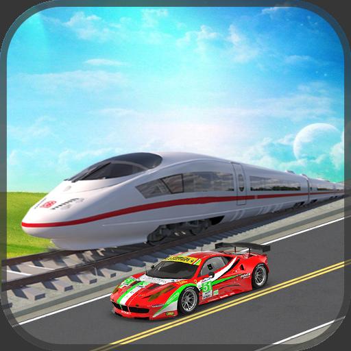 Train vs Car Super Racing Simulator