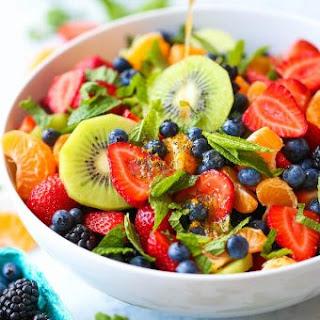 Fruit Salad With Orange Juice Dressing Recipes.