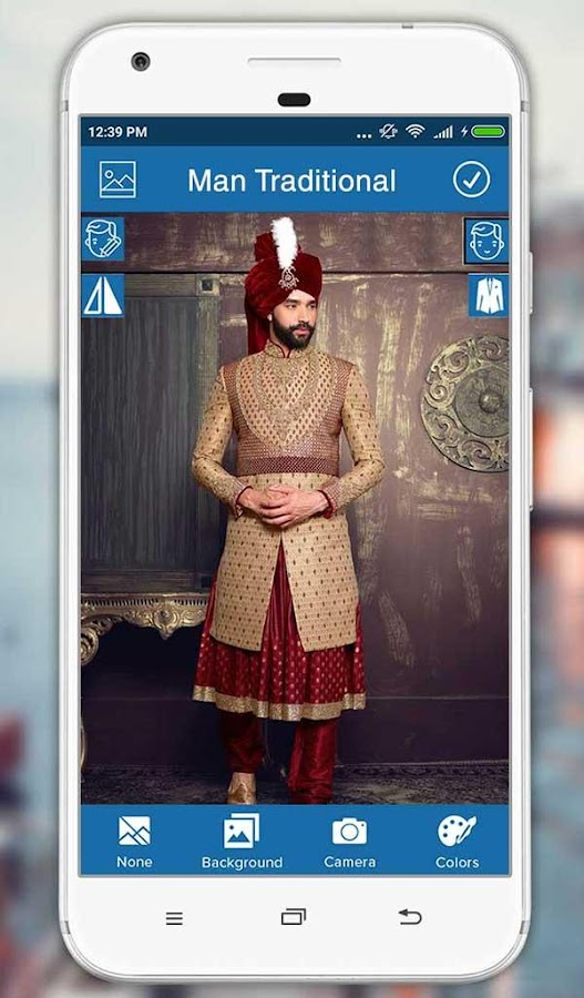 Man Traditional Photo Suit- screenshot