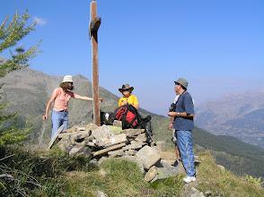 Photo: Ascension de l'aiguille d'Orcières, encore une dernière petite offrande