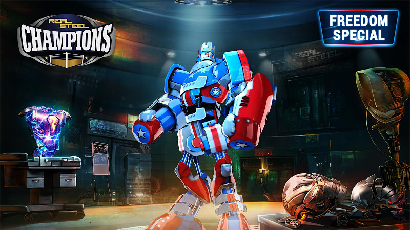 Real Steel Boxing Champions v1.0.385 (Mod Money)