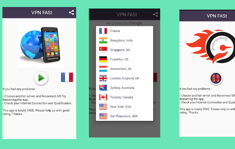 Download VPN FASt -(TURBO) Unlimited Free VPN APK latest