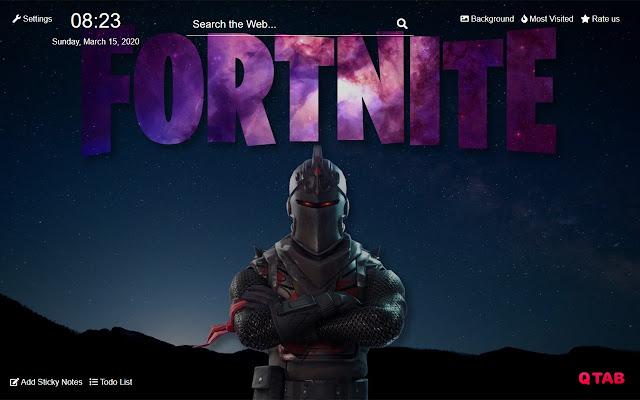 Black Knight Fortnite Wallpapers Hd New Tab
