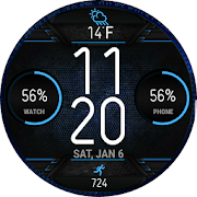 S8 AOD Theme Watchface for WatchMaker