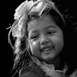 by SANGEETA MENA  - Black & White Portraits & People (  )