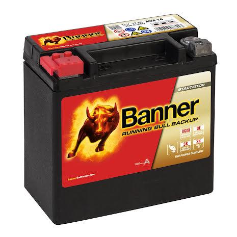 Banner Running Bull BackUp - 514 00 / AUX 14