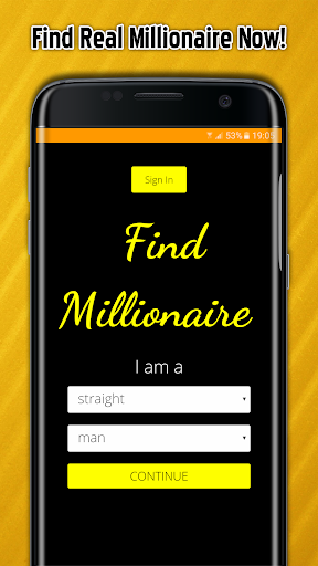 Adult Dating, Find Millionaire screenshot
