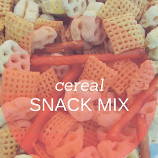Cereal Snack Mix.
