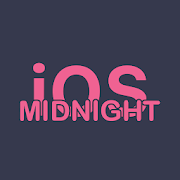 iOS Midnight Free - EMUI 9.0/9.1 Theme