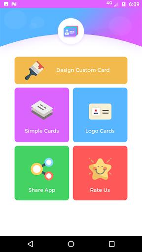 Pembuat kartu nama - kunjungan 3.7 screenshots 2