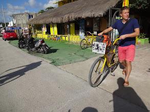 Photo: V ceně bylo i půjčení kola, který se náramně hodilo k dosažení asi dvou kilometrů vzdálených rujn.