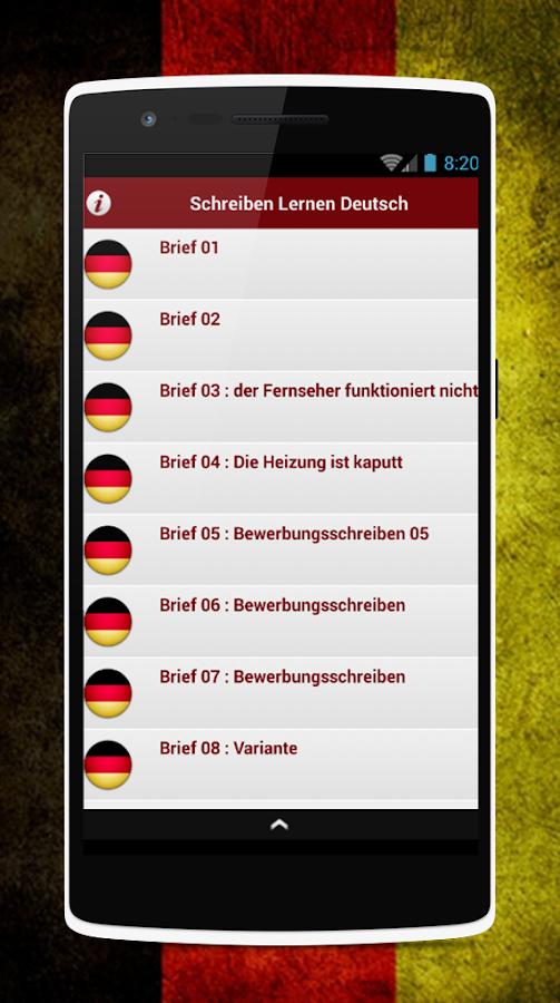 Schreiben Lernen Deutsch - Android Apps On Google Play