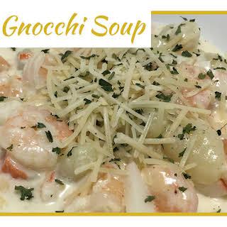 Seafood Gnocchi Soup.