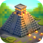 Aztec Craft: Ancient Blocky City Building Games icon