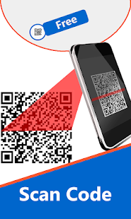 QR kód čtenář a skener - náhled