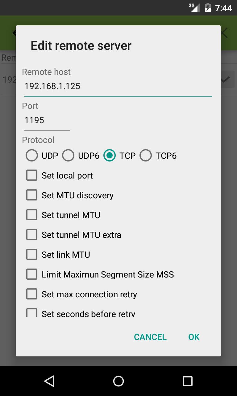 VPN Client Pro Screenshot 3