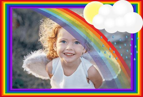 Duha Rámečky Na Fotky – Barevné Efekty Na Fotky - náhled