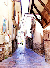 Photo: Old town of Ohrid.
