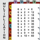 Multiplication table: fast math tables to 100 icon