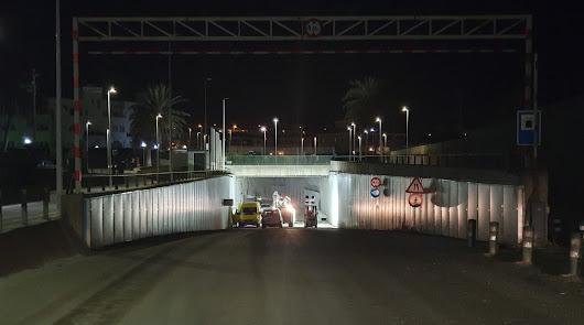 La mejora del acceso al puerto de Garrucha, en la recta final