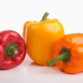 Pepper by Michel Arel - Food & Drink Fruits & Vegetables ( michelarel, vegetables, pepper, yellow, pwcvegetables )
