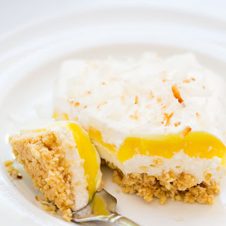 Lemon Coconut Cream Dessert Lasagna