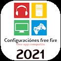 Configuraciónes Free fire 2021 Nuevos Pro Player icon