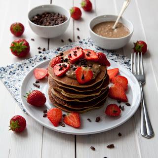 Blender Oat Pancakes.