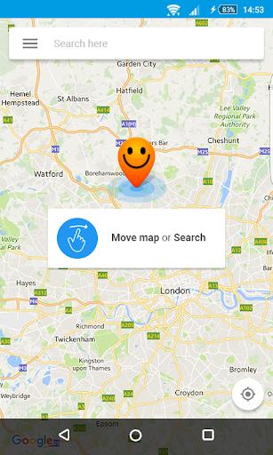 Fake GPS Location - Hola  screenshots 4