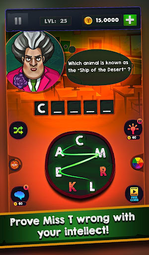 Scary Teacher : Addictive Word Game 2.1 screenshots 13