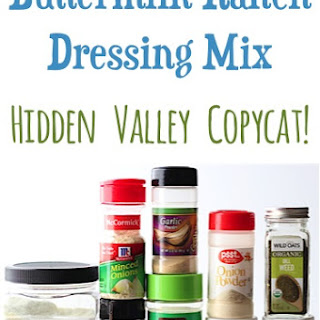 Buttermilk Ranch Dressing Mix Recipe {Copycat Hidden Valley}