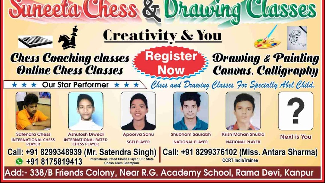 Suneeta Chess & Drawing Classes - Educational Institution in