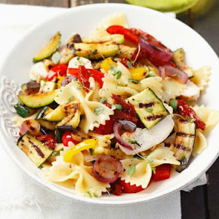 Farfalle with Grilled Vegetables Recipe
