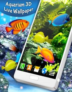 Aquarium 3D Live Wallpaper - náhled