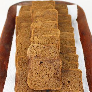 Homemade Melba Toast.