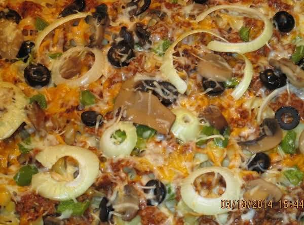 Pizza Noodle Casserole Recipe