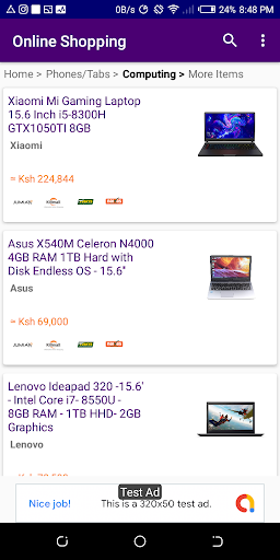 Kenya Online Shopping - All Stores (Compare Price) screenshot 4