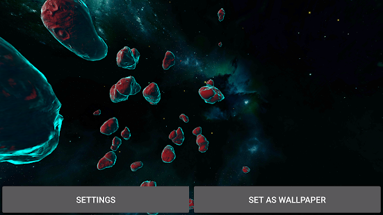 Gyro Asteroids 3D Screenshot