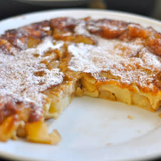 Apple German Pancakes.