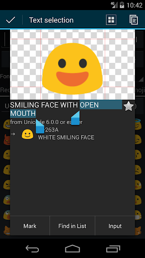 Unicode Pad 2.5.0 screenshots 1
