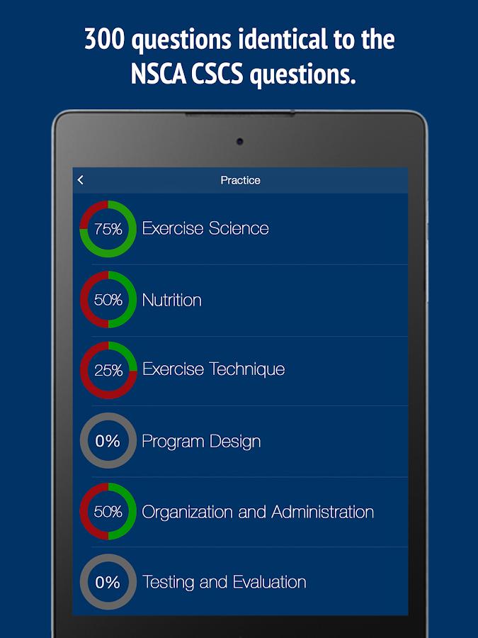 Nsca apps iOS Anywhere Anytime Exam Prep