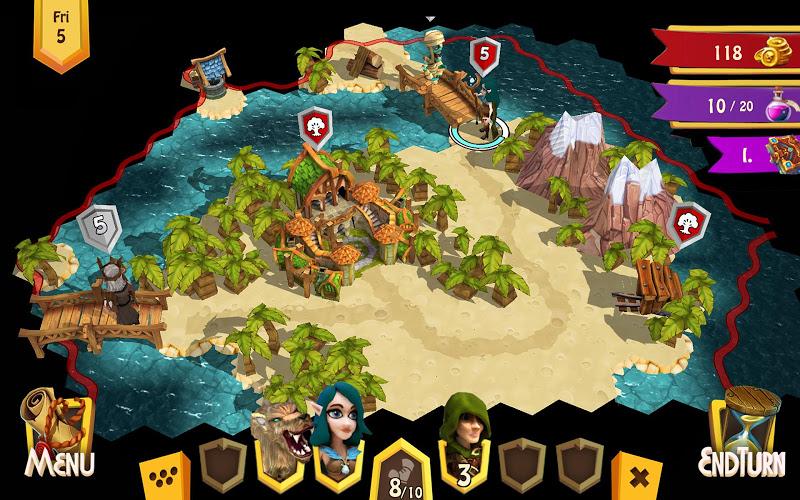 Heroes of Flatlandia Screenshot 6