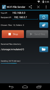 WiFi File Sender Premium Screenshot